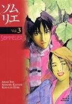 Sommelier T3, manga chez Glénat de Hori, Araki, Kaitani