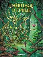 L'héritage d'Emilie T3 : L'éxilé (0), bd chez Dargaud de Magnin