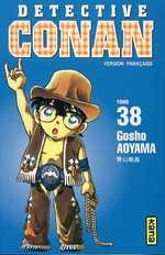 Detective Conan T38, manga chez Kana de Aoyama
