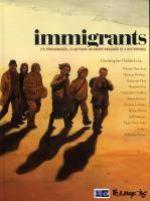 Immigrants, bd chez Futuropolis de Dabitch, Hureau, Davodeau, Mirror, Flao, Dona Solar, Pourquié, Le Roux, Troub's, Durieux, Fior, Gaultier, Vassant