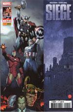 Siege T1, comics chez Panini Comics de Bendis, Coipel