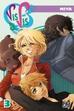 Vis-à-vis – 1ère edition, T3, manga chez Pika de Miya