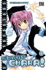 Shugo chara – Edition simple, T8, manga chez Pika de Peach-Pit