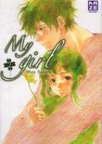 My girl  T2, manga chez Kazé manga de Sahara