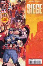 Siege T4, comics chez Panini Comics de Reed, Bendis, Samnee, Coipel, Wilson, Martin