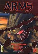 Arms T10, manga chez Kana de Minagawa