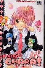 Shugo chara – Edition simple, T11, manga chez Pika de Peach-Pit