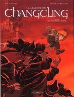 La légende du Changeling T4 : Les lisières de l'ombre (0), bd chez Le Lombard de Dubois, Fourquemin, Smulkowski