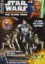 Star Wars (revue) – The clone wars, T3, comics chez Delcourt de DeFalco, Hoskin, Etherington, Ponce, Roberts, Digikore studio