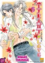 The tyrant who fall in love T5, manga chez Taïfu comics de Takanaga