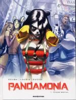 Pandamonia T1 : Chaos bestial (0), bd chez Drugstore de Ecuba, Lauria, Cucca, Andolfo