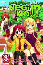 Negima !? neo T3, manga chez Pika de Fujima, Akamatsu
