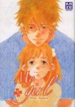 My girl  T3, manga chez Kazé manga de Sahara