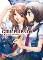 Girl friends T2, manga chez Taïfu comics de Morinaga