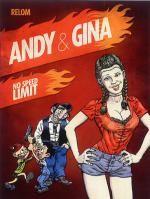 Andy et Gina T5 : No speed limit (0), bd chez Fluide Glacial de Relom, Larcenet