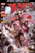 X-Men (revue) T3 : Second coming (5/7) - Le retour du messie (0), comics chez Panini Comics de Wells, Fraction, Carey, Roberson, Land, Dodson, Medina, Fox, Villarubia, Reber, Milla, Ponsor, Granov