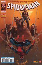 Spider-Man (revue) – V 2, T136 : Une erreur de plus (0), comics chez Panini Comics de Aaron, Peyer, Van Lente, Waid, Nauck, Penalta, Bachalo, Gaydos, Kubert, Ponsor, Mossa, Hollingsworth, Fabela