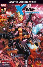 X-Men Universe – Revue V 1, T3 : Second coming (6/7) - Le retour du messie (0), comics chez Panini Comics de Yost, David, Kyle, Choi, De Landro, Tolibao, Raney, Cox, Oback, Ramos