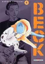 Beck T4, manga chez Delcourt de Sakuishi