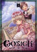Gosick T3, manga chez Soleil de Sakuraba, Amano