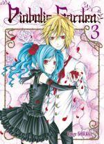 Diabolic garden T3, manga chez Ki-oon de Shiraki