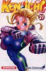 Ken-Ichi – Le disciple ultime, T21, manga chez Kurokawa de Matsuena