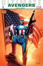 Ultimate Avengers Hors Série T2 : Ultimate Captain America (0), comics chez Panini Comics de Aaron, Garney, Charalampidis, Milla, Keith