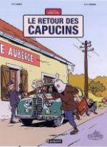Une aventure de Jacques Gipar T2 : Le Retour des Capucins  (0), bd chez Paquet de Dubois, Delvaux, Montes