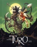 Turo T2 : Le Coeur d'Helos (0), bd chez Le Lombard de Guerrero, Montes