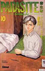 Parasite – 1e édition, T10, manga chez Glénat de Iwaaki