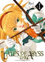 Tales of the abyss T4, manga chez Ki-oon de Rei
