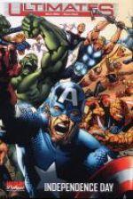 Ultimates T3 : Independence day (0), comics chez Panini Comics de Huston, Millar, Hitch, Deodato Jr, Sook, Beredo, Molinar, Martin, Chung