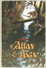 La saga d'Atlas & Axis T1, bd chez Ankama de Pau