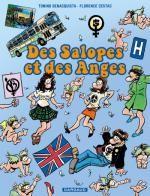 Des Salopes et des anges, bd chez Dargaud de Benacquista, Cestac