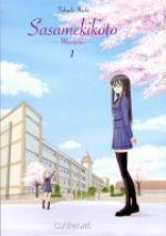 Sasamekikoto - Murmures T1, manga chez Clair de Lune de Ikeda