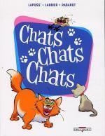 Chats chats chats, bd chez Delcourt de Lapuss', Larbier, Rabarot