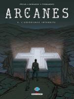 Arcanes T9 : L'expérience interdite (0), bd chez Delcourt de Pécau, Nenadov, Fernandez