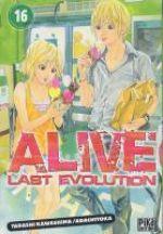 Alive - Last evolution  T16, manga chez Pika de Adachi, Kawashima