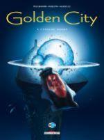 Golden city T9 : L'énigme Hanks (0), bd chez Delcourt de Pecqueur, Malfin, Schelle