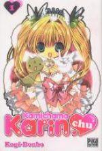 Kamichama Karin chu T1, manga chez Pika de Kogé-donbo