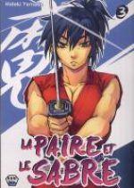 La Paire et le sabre T3, manga chez Ankama de Konchiki