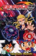 Beyblade T6, manga chez Kazé manga de Adachi