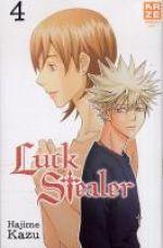 Luck stealer T4, manga chez Kazé manga de Kazu