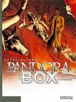 Pandora Box T3 : La gourmandise (0), bd chez Dupuis de Alcante, Dupré, Usagi