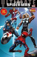 Ultimate Spider-Man (kiosque V2) T11 : La mort de Spider-Man (1/2) (0), comics chez Panini Comics de Bendis, Samnee, Bagley, Ponsor