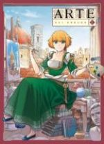 Arte T1, manga chez Komikku éditions de Ohkubo