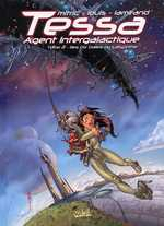 Tessa, agent intergalactique T2 : Les dix dalles du labyrinthe (0), bd chez Soleil de Mitric, Louis, Lamirand