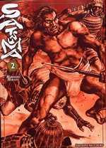 Satsuma, l'honneur de ses samouraïs T2, manga chez Delcourt de Hirata