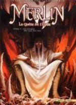 Merlin - La quête de l'épée T5 : Les dames du lac de feu (0), bd chez Soleil de Istin, Demare, Cordurié