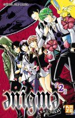 Enigma T2, manga chez Kazé manga de Sakaki